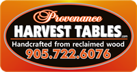 Provenance Harvest Tables
